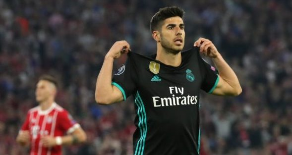 Asensio nets the winner for Madrid at Bayern Munich
