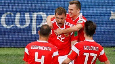 BREAKING:  World Cup 2018:  Russia win opener against Saudi Arabia