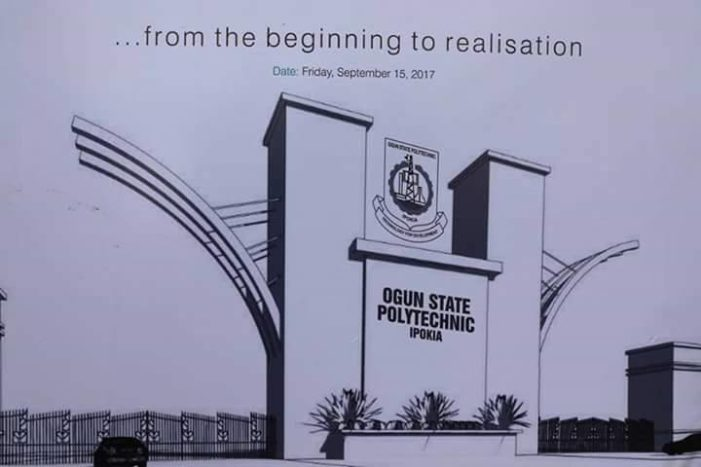 Ogun Poly, Ipokia begins admission