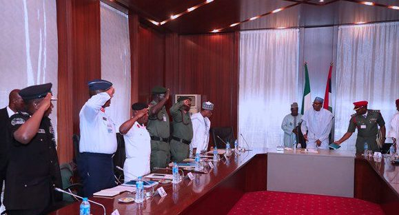 Buhari summons service chiefs over Metele attack