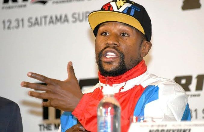 Mayweather says he 'never agreed' to fight Japanese kickboxer