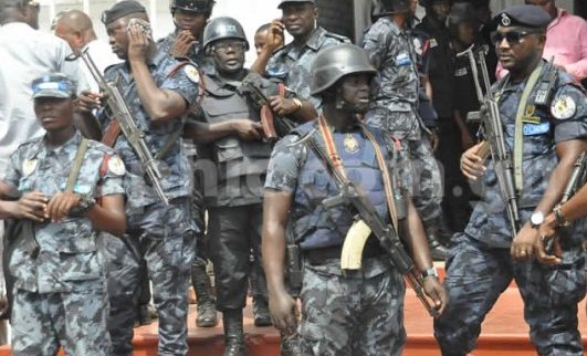 BREAKING: Police vacate Akwa Ibom Assembly