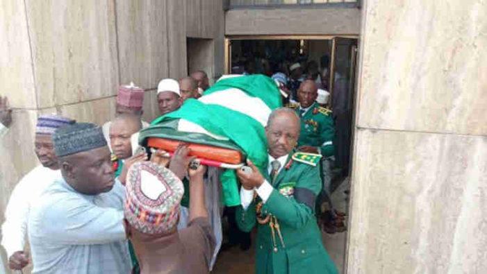 Remains of murdered Gen. Alkali laid to rest