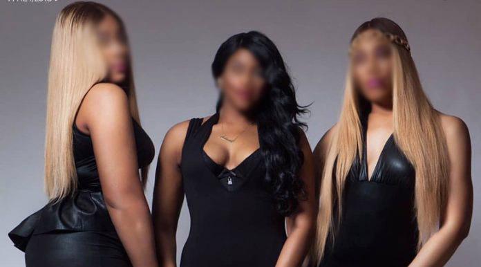 Black undies conceal nudity —fashion designer