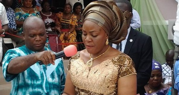 2019: Mrs. Ortom Applauds Sankera People for Pledge of Single-Line Voting For PDP