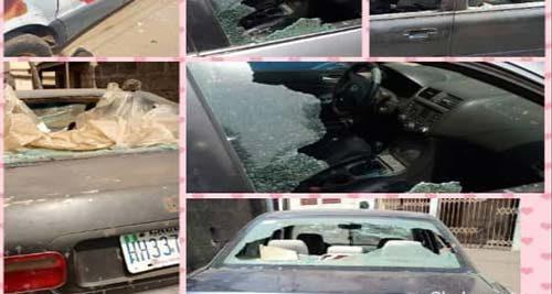 Thugs attack Saraki family quarter, injure 11, destroy 50 vehicles