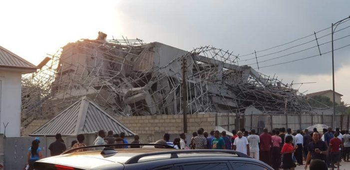 BREAKING: Many pupils feared dead as school building collapses in Lagos