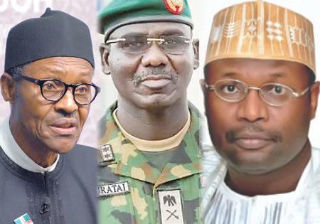 Buhari, Yakubu, Buratai in Clandestine Meeting, Plot to Rig March 23 Polls – Frank