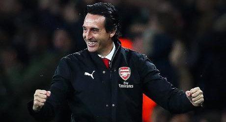 Emery hails Arsenal's strength under pressure