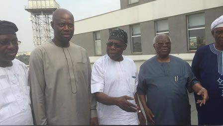 Obasanjo Charges Oyo People to Support Makinde