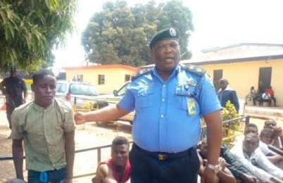 Benue Police Rescue 1Year Old, Nursing Mother, from Kidnappers, Parade 10 Criminals