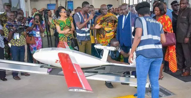 World's Largest Medical Drone Delivery Service Takes Off in Ghana