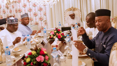 Buhari Hosts NASS leadership to Breaking of Fast, Decries Frosty Relationship