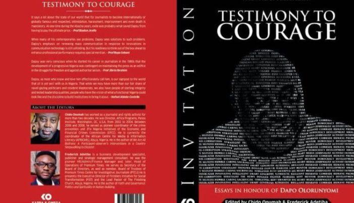 Osinbajo, Tinubu, Anyanwu, Others Set For Launch of Book On Olorunyomi
