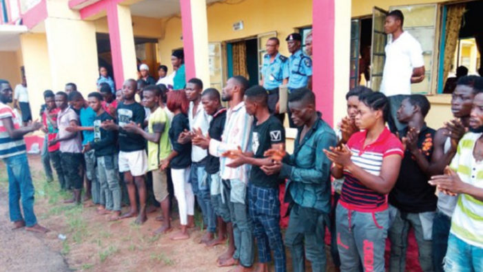 95 Cultism Suspects Arrested in Anambra