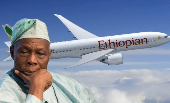 Ethiopian Airlines Blames Bad Weather For Aborted Landing In Lagos