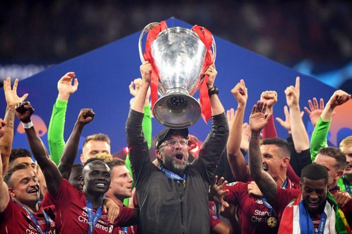 Breaking: Champions League Final:  Liverpool Beat Tottenham 2-0 to Emerge Champions