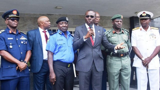 Sanwo-Olu, Security Chiefs Hold Meeting, Pledges to Revamp State Security Architecture
